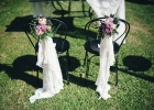 Stühle für Braut und Bräutigam