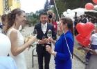 Das Brautpaar bedankt sich bei seiner Rednerin