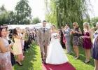 Das glueckliche Brautpaar