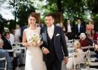 Der Auszug des Brautpaares