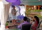 Die Ansprache zum Willkommensfest von Rednerin Albu-Lisson
