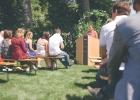 Die Gäste bei der Willkommensfeier