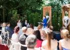 Hochzeitsgesellschaft bei der Freien Trauung in der Steiermark