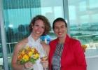 Hochzeitsrednerin Diana und Braut Elise auf Wolke 19
