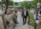 Braut und Bräutigam ziehen aus