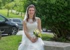 Die hübsche Braut...