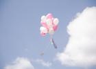 Luftballons zur Willkommensfeier