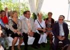 Nette-Hochzeitsgesellschaft