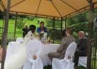 Rednerin Albu-Lisson erzählt vom Leben des Brautpaares